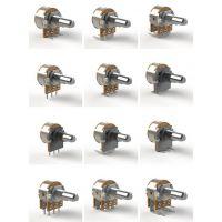 厂家供应148电位器,单联 双联 带开关电位器,调速调光电位器
