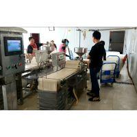 湖北石牌豆腐生产机器 淮南寿县干豆腐生产设备 商用煮浆机设备 做豆皮的机器