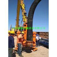 全国挖掘机液压铰刀泥浆泵_液压抽砂泵出口国外
