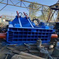 广东咨询200吨金属压块机包块400*400的钢筋彩钢瓦压块打包机厂家直销