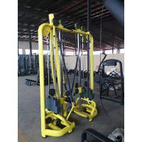 厂家直销多功能龙门架 大飞鸟训练器背部腿部力量训练器材