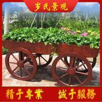 北京岁氏景观碳化木花车市场价格