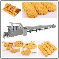 全自动小型饼干生产机器 酥性韧性两用饼干成型机
