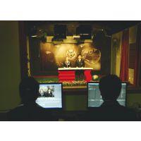 大片既视感的真三维虚拟演播室系统,天创华视访谈直播类虚拟演播室搭建