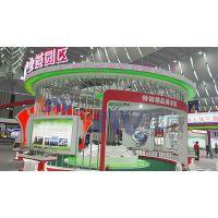 广州邦威展览搭建厂家 优质展览展架设计 八棱柱展板设计