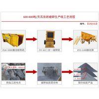 厂家直销日产600-800吨砂石料生产线设备破碎机制砂机配置方案