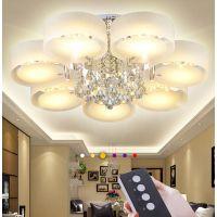 led吸顶灯圆形卧室灯现代简约亚克力吸顶灯家用灯具灯饰厂家批发