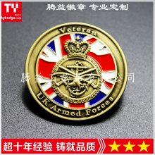 外贸徽章礼品定制 钥匙扣纪念币胸章生产厂