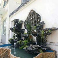 英石假山、鱼池水池假山、叠石造景、庭院设计