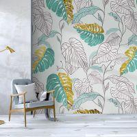 现代简约3d立体墙布大型壁画客厅沙发电视背景墙壁纸卧室床头壁布