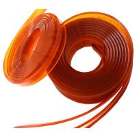 高硬度印刷刮胶 特耐溶剂刮胶刮刀40*7*4米 平口刮胶条75度 丝网印刷胶刮