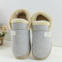 2017新款  秋冬保暖棉鞋 全包跟情侣室内拖鞋男女包跟棉鞋
