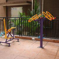 福建户外健身锻炼设施 购买114管材跑步机 健身器材柏克颜色多种