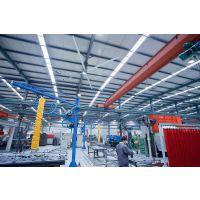 上饶瑞泰风大型工业吊扇成为厂房通风降温的理想选择