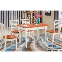 芜湖名邦家具地中海餐桌椅,实木餐桌椅,可抽拉圆桌