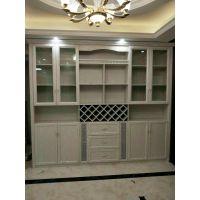 太原零甲醛整体铝合金环保定制·全铝书柜,酒柜