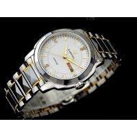 正品商沃09206品牌钨钢钢带全自动机械表  防水男士手表腕表礼品