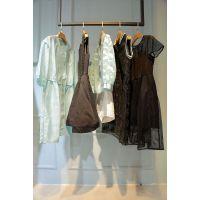 衣之庄园阿里巴巴批发网外贸尾货 折扣女装都有哪些品牌尾货深蓝色大码女装