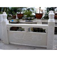 供应天然优质汉白玉栏杆 汉白玉石雕