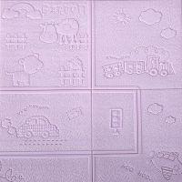 厂家直销卡通墙纸泡沫贴纸儿童防撞自粘墙贴幼儿园防水3d立体墙贴