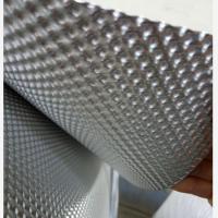 汽车底盘隔热的材料叫什么?表面凹凸坑纹半球软铝压花铝板