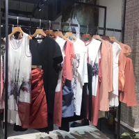 香港雾道女装连衣裙原单折扣库存尾货直销简约时尚套装组合批发