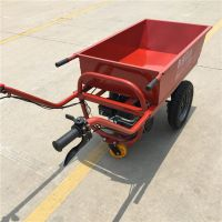 山东奔力机械 充气平板汽油双轮车 移动工具车材质