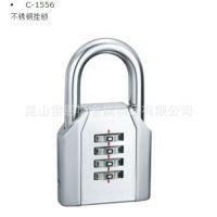 日本原装进口泷源TAKIGEN不锈钢密码挂锁C-1556-60-L/C-1556-60