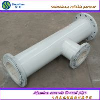 供耐磨陶瓷管道/氧化铝贴片陶瓷管道焊接陶瓷管道
