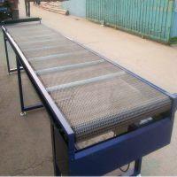 挡板网带输送机定制 提升爬坡输送