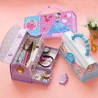 J密码文具盒创意女生 多功能韩国可爱公主幼儿园小学生铅笔盒包邮