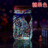 大号小号玻璃瓶子透明木塞夜光发光好看许愿瓶十二星座罐装瓶装学