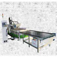 江门【家具制造木工机械】双工序数控下料机 高效率全自动雕刻机