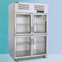 美厨大二门风冷冷藏保鲜展示柜 商用玻璃门保鲜陈列柜AES1.0G2