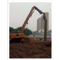 庄行镇日立液压打桩锤拉森钢板桩打拔租赁/钢板桩支护施工专项方案.基坑围护预制方桩拔除