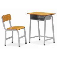 厂家自产自销课桌|金属学生单人桌椅|可升降课桌椅中学