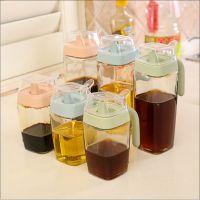 创意厨房防漏玻璃油壶 大容量厨房调料分装瓶酱油瓶调料瓶