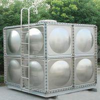 厂家直销双层保温冲压板水箱定制组合式 消防水箱 304不锈钢水箱