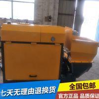 供应卧式二次构造柱输送泵车 小型细石混凝土泵浇筑机泽良厂家