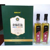 河南亚麻籽油,不含塑化剂的食用油,厂家河南晶森油脂批量出售