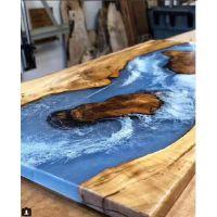 树脂湖泊桌