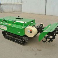 履带式果园开沟机 小型果园管理机 普航多功能35马力追肥回填机厂家
