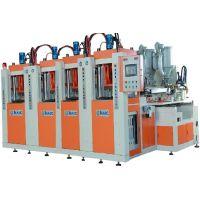 海川尔4工位新型立式双色TPU/TR/TPR/ETR/PVC鞋底射出注射成型机
