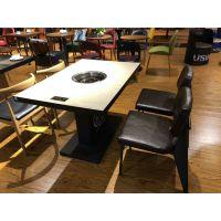 实木餐桌,椅子凳,炭烧木火锅桌,大理石电磁炉火锅桌