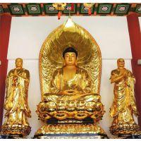 现代铜佛像-茂来雕塑-临沂铜佛像