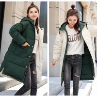 广州哪里批发羽绒服韩版时尚羽绒棉服外套处理中长款棉袄清货