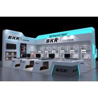 电子科技展览 如何选择展台设计 宝丰电子展览展台3D模型