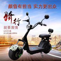 哈雷电动车代步车哈雷车电动摩托车踏板电瓶车两轮电动车