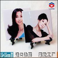 瓷砖DIY印图 热转印瓷砖 10*10cm 进口涂层 影像瓷片 特级加白砖