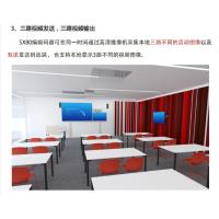 思科CTS-SX80-K9会议终端,三路视频发送,三路输出,支撑本地3路不同视频图像